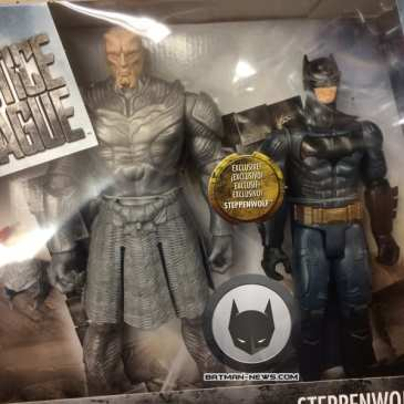 Mattel's newest Justice League action figures reveal how Steppenwolf will look like