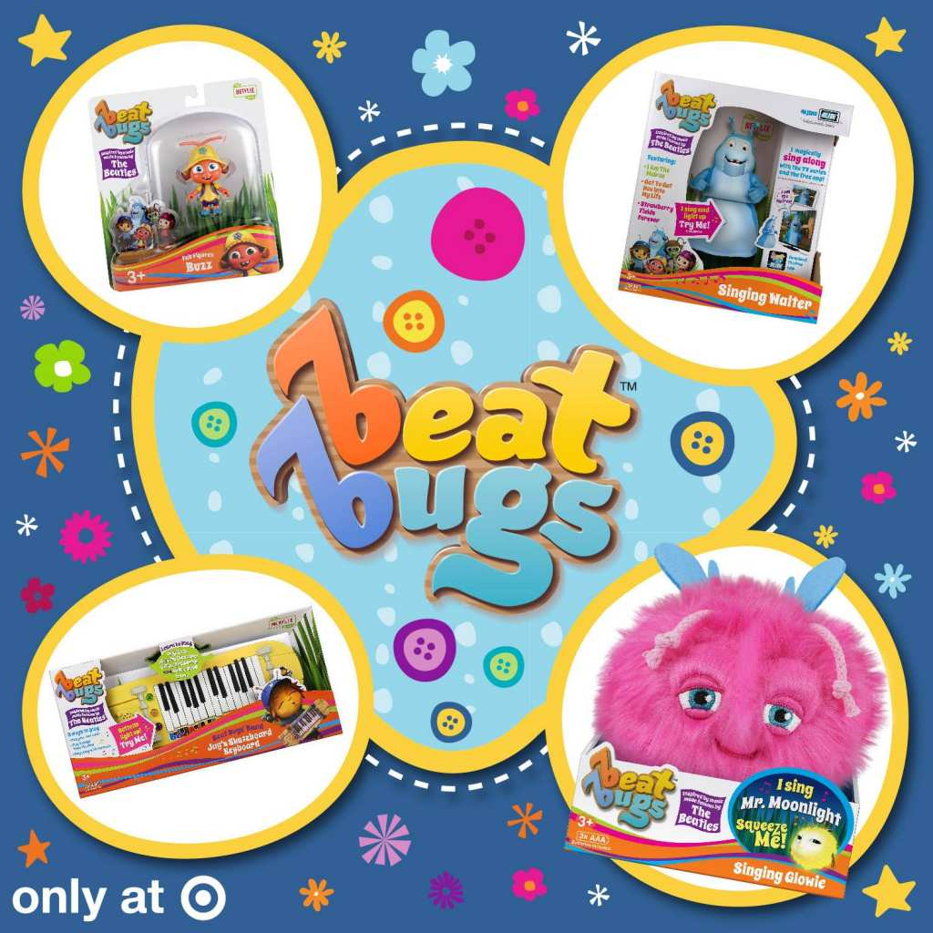Beat Bugs introduces new toys for Target only