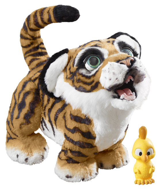 The Hasbro FurReal Roarin' Tyler the Playful Tiger is coming this fall