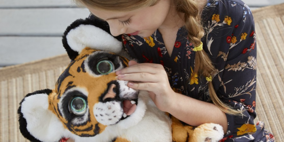 Hasbro launched a new FurReal Tyler the Playful Tiger stuffed animal for the International Tiger Day