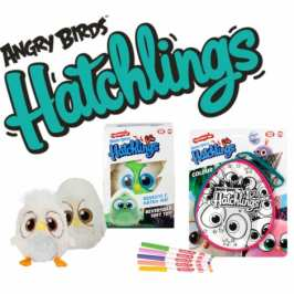 Angry Birds is launching its own line of hatchable stuffed toys