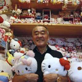 Meet the person with the biggest Hello Kitty toy collection in the world