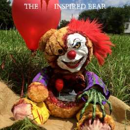 This custom plushie is the scariest teddy bear you will ever see