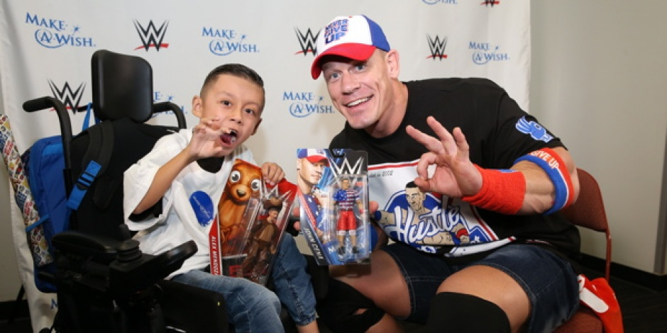 Mattel and WWE launch an exclusive John Cena action figure for the Make-A-Wish foundation