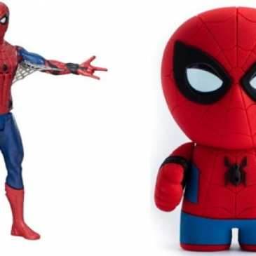The Spider-Man: Homecoming toys are now making their way to the stores