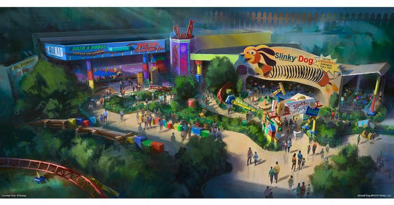 The Walt Disney World Resort will add the Toy Story Land in 2018