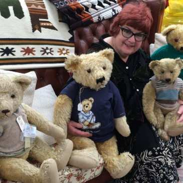 Woman sells her historical teddy bear collection in order to save it