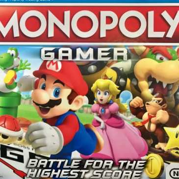 Hasbro and Nintendo unveiled a special Monopoly Gamer edition with Mario