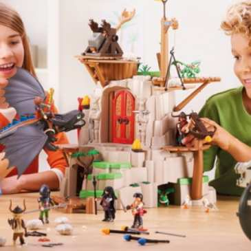 Playmobil adds How to Train Your Dragon to its toy line