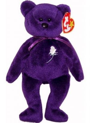 Someone is selling a Princess Diana Beanie Baby on eBay for $300 000