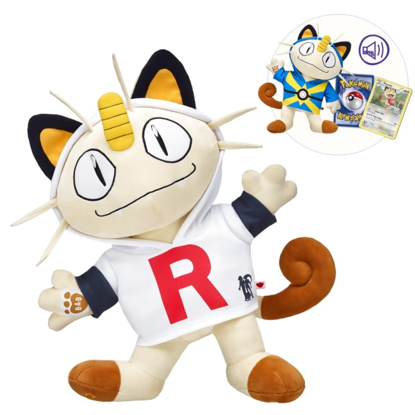 Build-A-Bear adds Pokemon's Meowth to its toy line