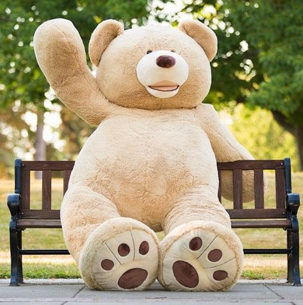 Costco is selling a huge 93-inch tall teddy bear in the UK