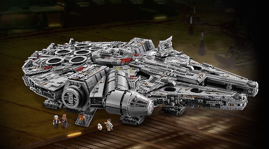 LEGO shows off it's biggest set ever: The Ultimate Collectors Series Millennium Falcon