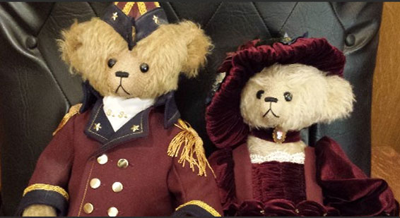 Famous teddy bear designer honored in the Heartland Museum