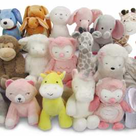 Almost 600 000 stufffed animals are recalled in the US for safety reasons