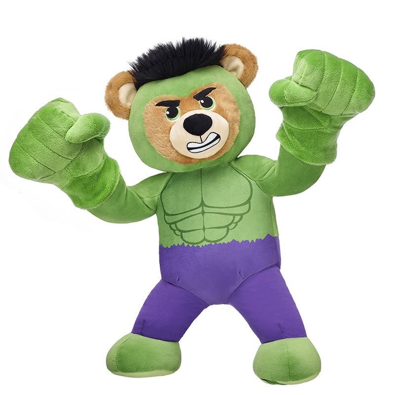 Build-A-Bear Hulk teddy bear
