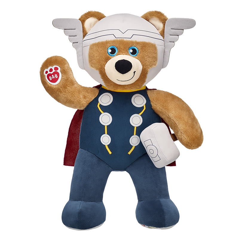 Build-A-Bear releases Thor and Hulk teddy bears and costumes