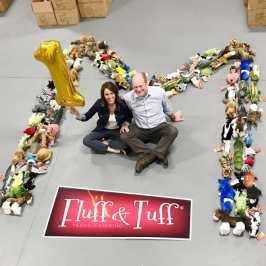 Fluff & Tuff celebrates 1 million sold plush toys