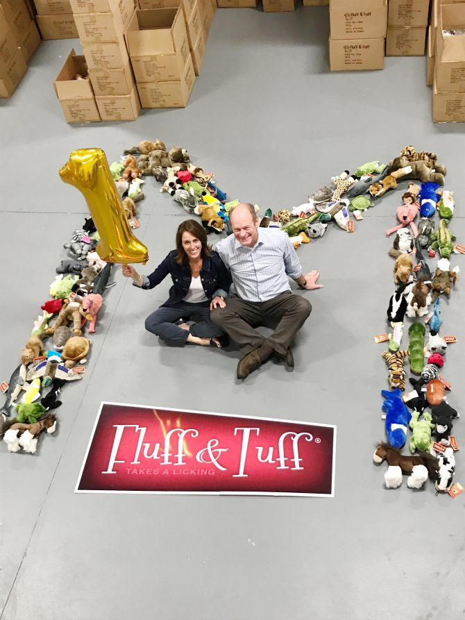 Fluff & Tuff celebrates 1 million sold plush toys