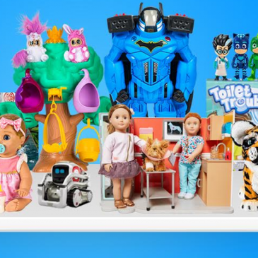 Toy-sharing subscriptions are a new thing which becomes more popular