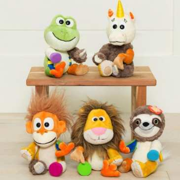 Animoodle are new plushies for the creative minds