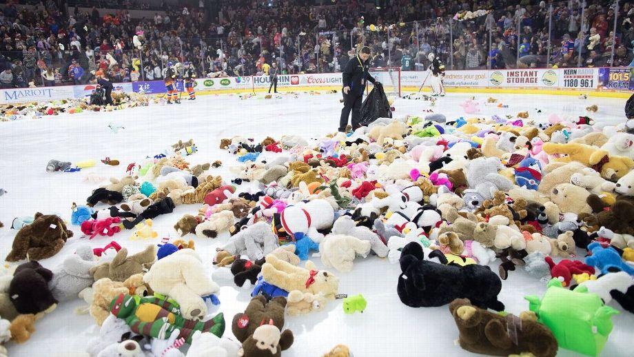 The Colorado Eagles announce their Teddy Bear Toss game for Dec. 8