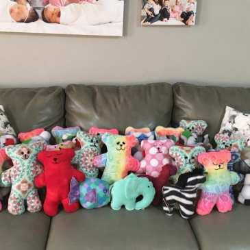 Dolls of Hope charity sends stuffed animals to kids in need all over the world