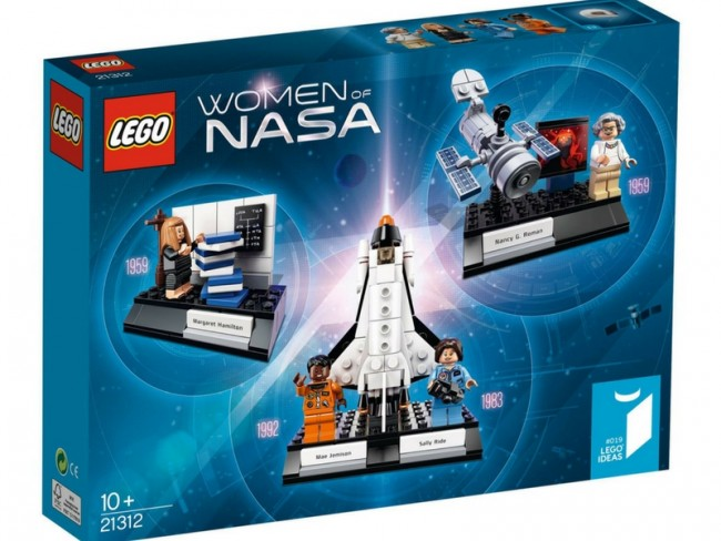 LEGO's special Women of NASA set became an instant top selling toy