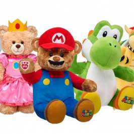 Build-A-Bear completes a full Super Mario line-up of bears and stuffed animals