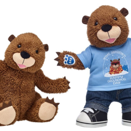 Build-A-Bear releases a Groundhog Day special stuffed animal