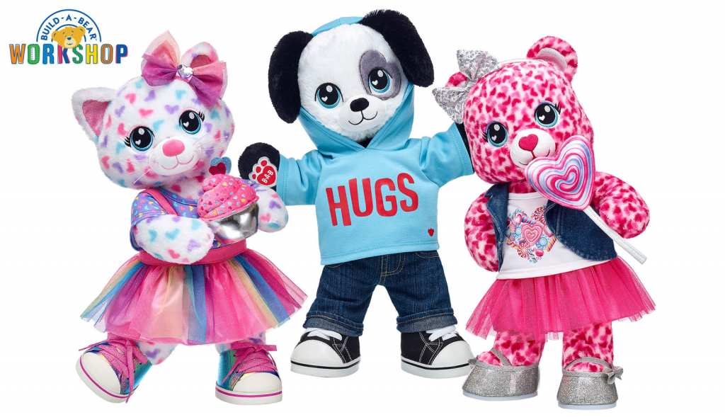 Build-a-Bear adds Sweet Shop Valentine's Day Gift stuffed animals