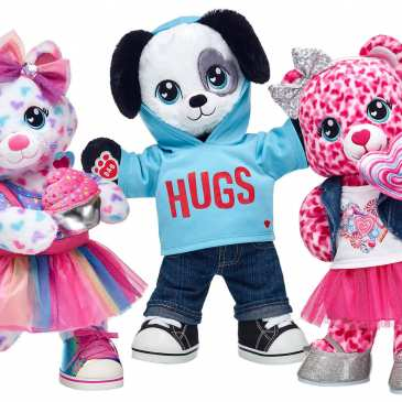 "Build-A-Bear will hold its first ""Pay Your Age Day"" this week"