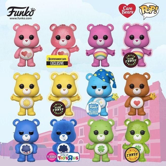 Funko Care Bears POP vinyl action figures