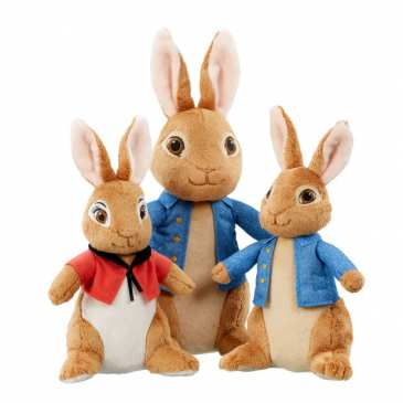 Rainbow Designs will make the plush toys for Peter Rabbit 2