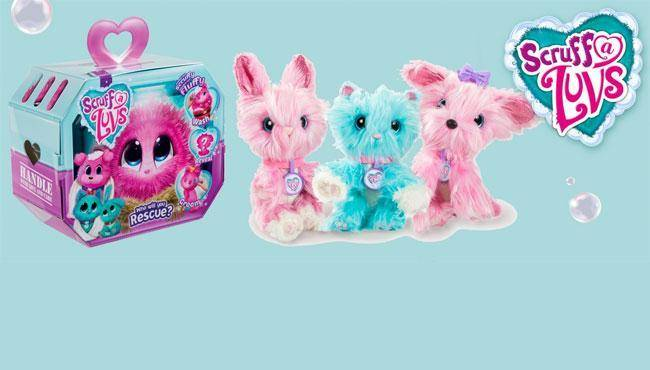 Scruff-A-Luvs plush toys will debut at the Nuremberg Toy Fair 2018