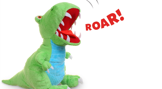 Golden Bear introduces a Dinosaur Roar range of stuffed animals