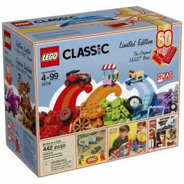 LEGO releases special limited edition 60th anniversary playsets