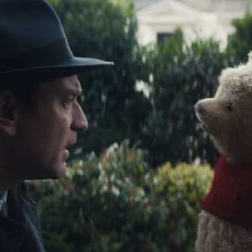 The first trailer for the Christopher Robin movie is here and Pooh is already marvelous