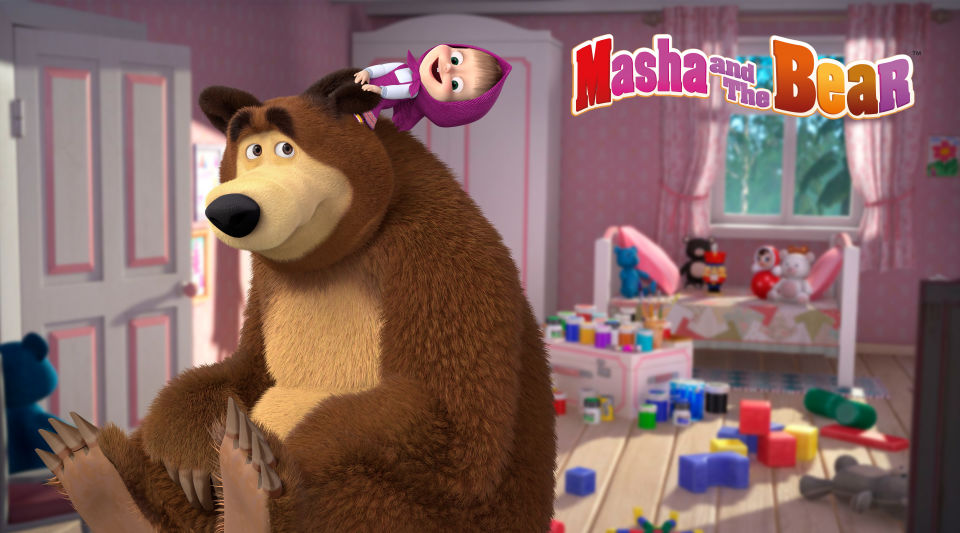 Masha and The Bear will have a special spring campaign at The Entertainer