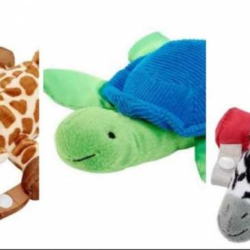 Nearly 600 000 stuffed animal pacifiers and teethers are recalled in the US