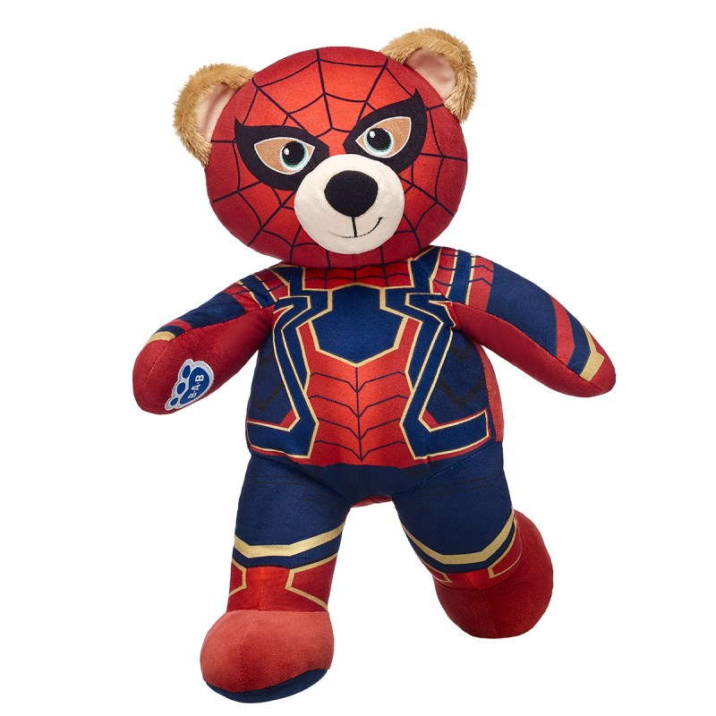 Build-A-Bear Iron Spider-Man teddy bear