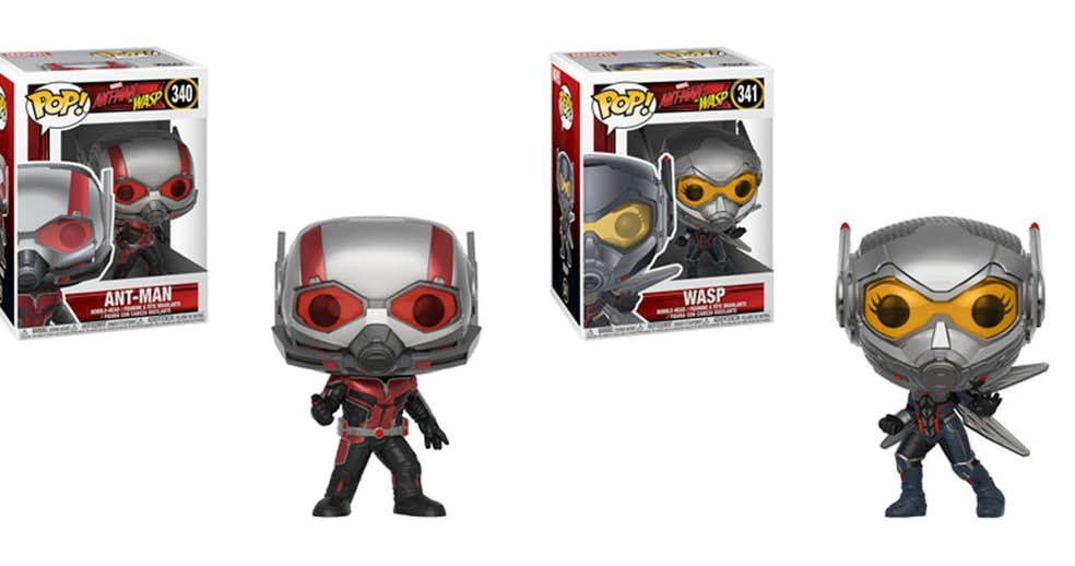 Funko adds Ant-Man and The Wasp POP Vinyl action figures