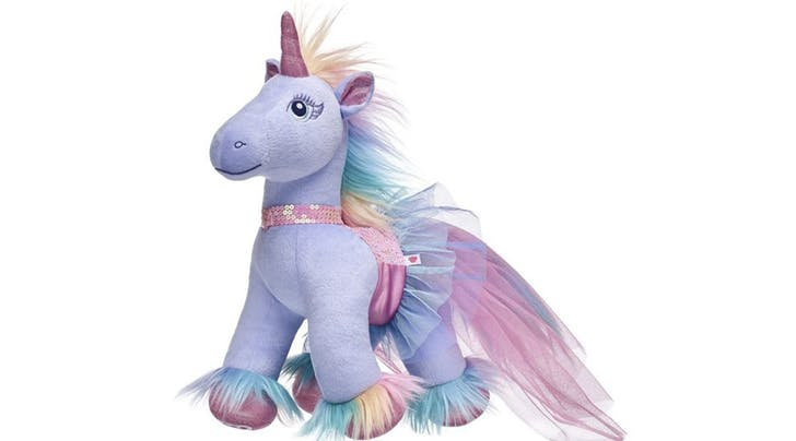 Build-A-Bear introduces a plush unicorn