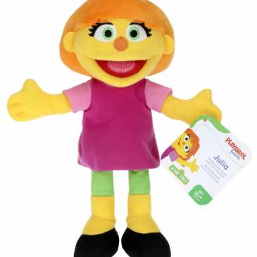 Hasbro releases a Sesame Street's Julia mini plush for Autism Awareness Month