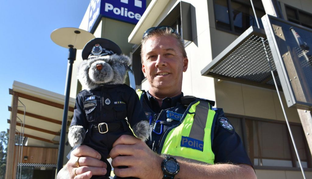 The Victoria Police issues a new collector's teddy bear for charity