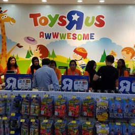 Toys R Us is also considering the sale of its Asian business