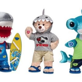 Build-A-Bear launches a special Shark Week plush collection