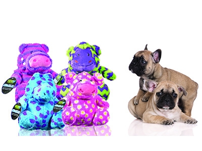 Caitec prepares a new HERO Chuckles plush toy line for dogs