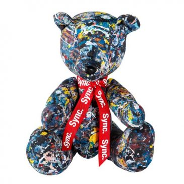 Medicom Toy and Sync launch two Jackson Pollock Teddy Bears