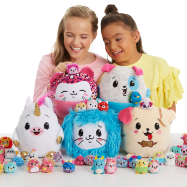 The Pikmi Pops plush toys climbed to the top position in the UK